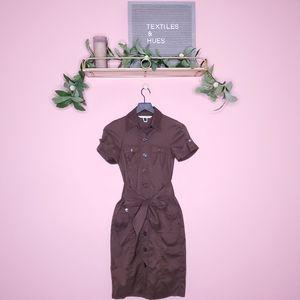 Diane von Furstenberg Vastago Safari Shirt Dress 2
